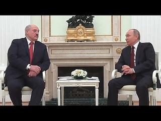 Лукашенко — Путину: достойно ответим тем, кто не понимает, что надо жить дружно. Панорама