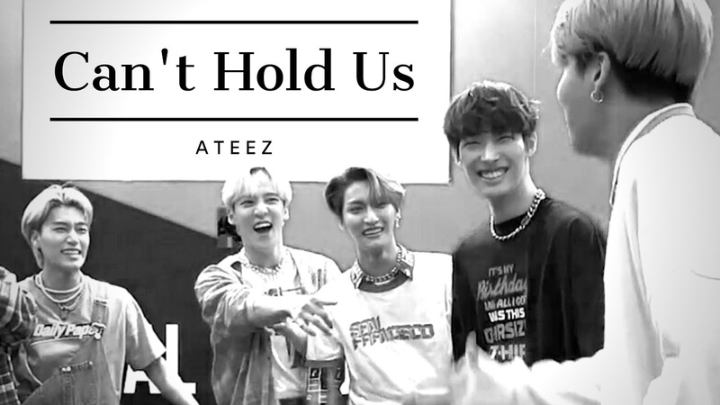 Can't Hold Us ATEEZ FMV