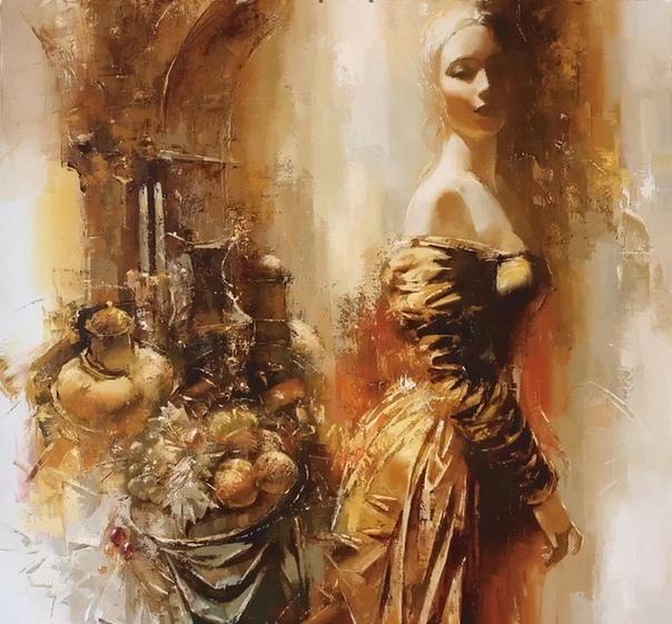 Загадочность, тайна, иррациональность феномена Женщины определили творческое кредо художника. Роман Гарасюта родился в 1958 году в Москве. Закончил Харьковский Художественный институт. Является
