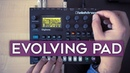 How to create an evolving pad on an FM synth (Elektron Digitone)