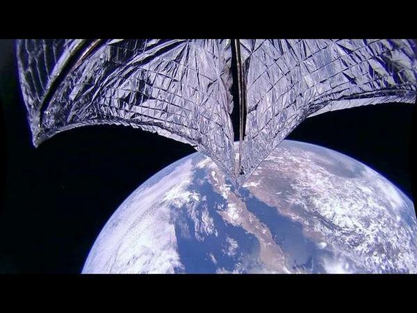 Солнечные паруса и рукотворный космический мусор Программа из цикла Новейшая астрофизика