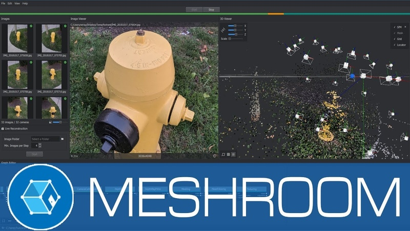Meshroom 3D Models from Photos using this Free Open Source Photogrammetry Software