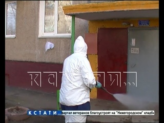Качество дезинфекции нижегородских подъездов губернатор Глеб Никитин проверил лично