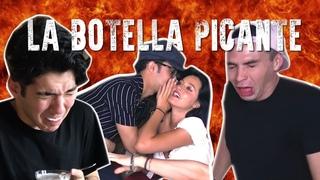Reto San Valentín #LaBotellaPicante ft. Joel, Oriana y Yoandri | Johann Vera