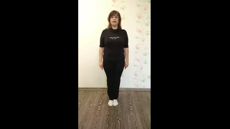 Изучаем пируэт в современном танце по прямой позиции ног Симонова Н Г