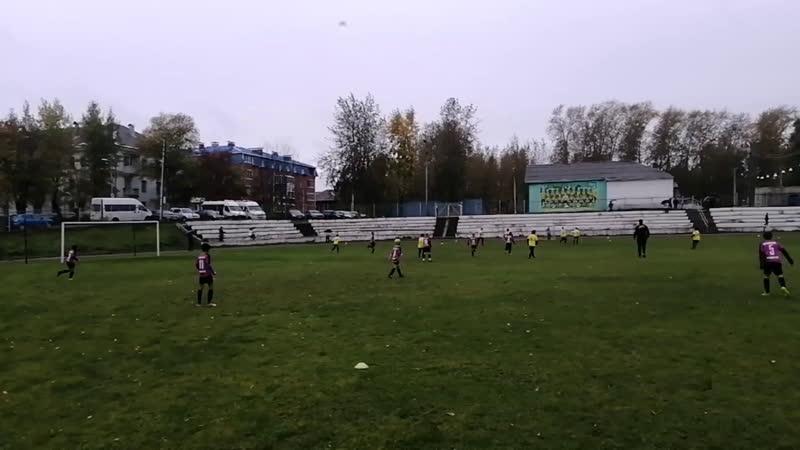 Турнир Кожаный мяч D10 11 2009 2010 г р сезон 2020 Кудымкар Краснокамск 1 тайм