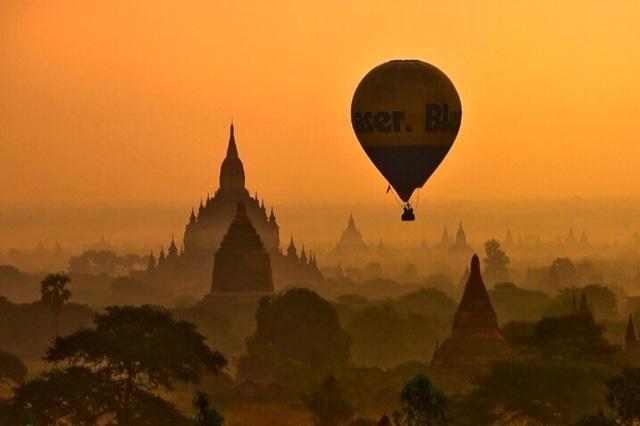 Древний город Баган в Бирме, изображение №6