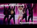 Natalia Gordienko screams EUROPE AaaaaAAAAaaa for 10 minutes
