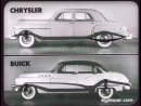 1950 Chrysler New Yorker vs 1950 Buick Roadmaster