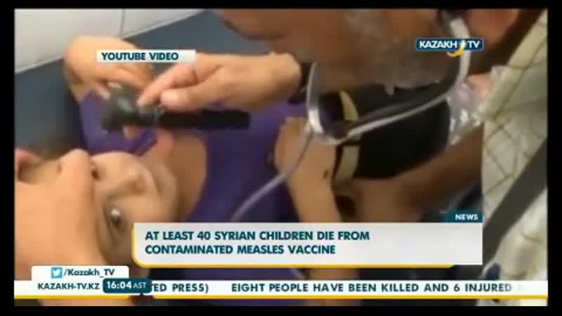 После прививки от оспы погибли 40 детей - а теперь подойди к зеркалу и скажи бееее вакцина