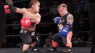 Brutal Dwarf Fight