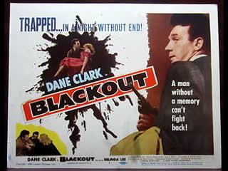 Blackout (1954) (Murder by Proxy)  Dane Clark, Belinda Lee, Betty Ann Davies
