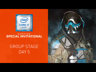 Warface special invitational: group stage. day 5