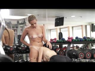 Lesbian, Gym, Pussy Licking, Facesitting, 1080p