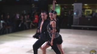 Alexander Chernositov and Arina Grishanina (USA) - Star Ball 2019 - Amateur Latin   R1 Samba