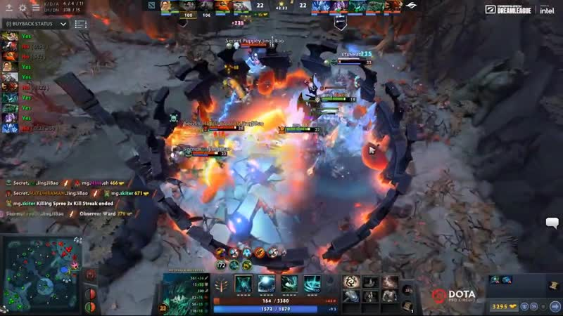 SECRET vs MUDGOLEMS 200IQ UNEXPECTED MID PICKS CRAZY SERIES with TI5 ITEMS S