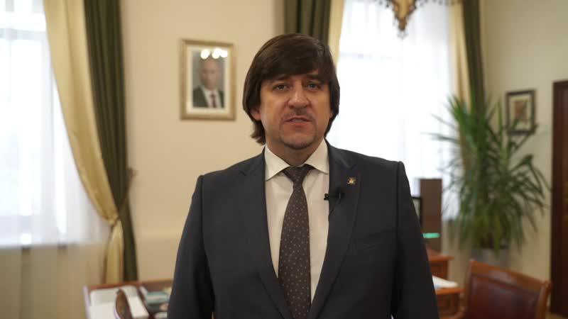 Глава города Тобольска Максим Афанасьев День матери