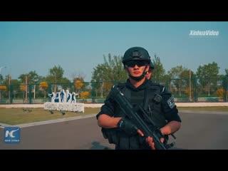 Тренировка китайского спецназа