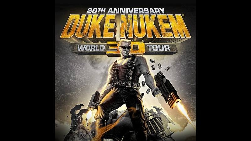 Duke Nukem 3D 20th Anniversary World Tour E4M7 Прохождение на Выкуси