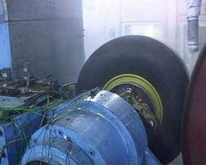 Airbus A380 brake test