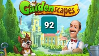Gardenscapes ☆ Level 92 ☆ Gameplay