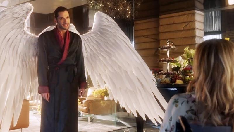 Люцифер просит у Линди отрезать ему крылья. Сериал люцифер морнингстар 3 сезон 1 серия. Сериальный м
