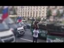 ЧМ2018 МЕДВЕДЬ ФАНАТ С ВУВУЗЕЛОЙ МОСКВА World Cup2018FOOTBALL BEAR ON the STRE