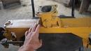 Передний мост самодельного минитрактора из поворотных кулаков ВАЗ