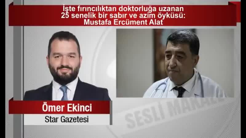 Ömer EKİNCİ _ İşte fırıncılıktan doktorluğa uzanan 25 senelik bir sabır ve azim öyküsü...