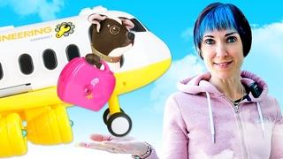 Как МАМА для Шоколадки. Маша Капуки и новое видео для девочек. Собачка летит на море в Турцию