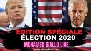 MDL REPORT(12)- USA: ÉLECTIONS 2020- DERNIERS SONDAGES-LES 2 CAMPS SE PRÉPARENT! Mohamed Diallo Live