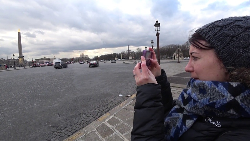 Walk Around Paris Part 3 of 3 Louvre Notre Dame Binaural ASMR