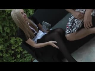 Eva lopez - cute blonde german maid