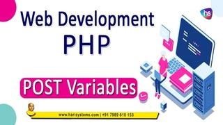 Post variable in php   website design   web development   Sekharmetla   Harisystems