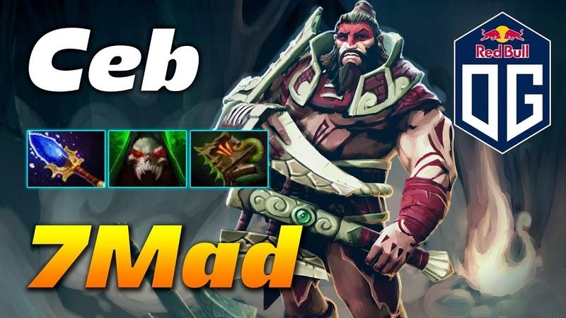 7Mad Beastmaster | Team OG | Dota 2 Pro Gameplay