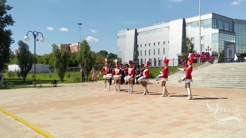 Заказать ансамбль барабанщиц на праздник юбилей и корпоратив мажоретки барабанщицы Москва