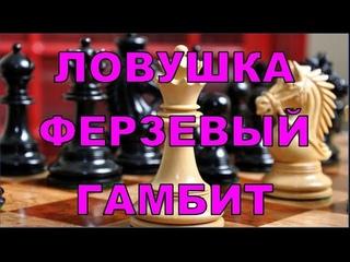 Шахматы ♕ Ловушка Отказанный Ферзевый гамбит Двойной удар Chess