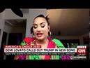 Demi Lovato Talks About Commander In Chief on CNN