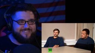 Вольнов смотрит как ГРУшники Петров и Боширов оправдываются у Симоньян