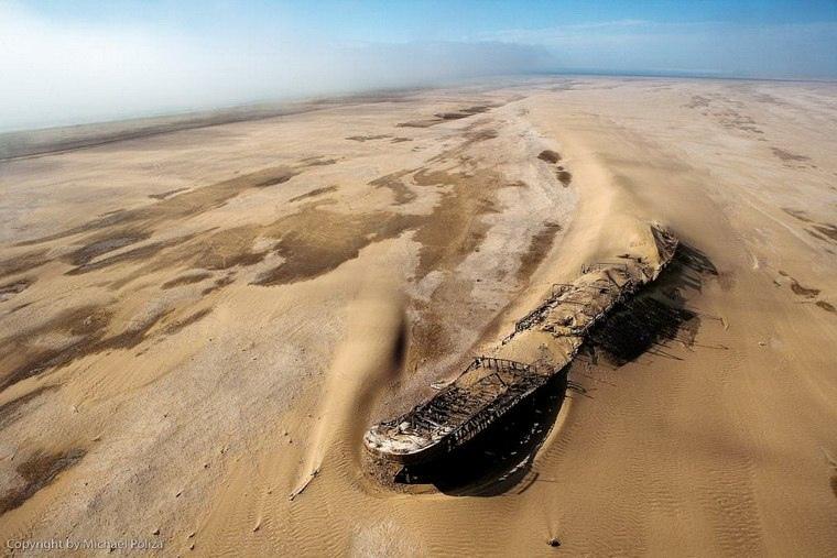 Интересные места нашей планеты Берег скелетов (Намибия), изображение №3