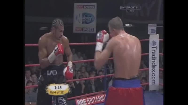 David Haye vs Lasse Johansen 2006 03 24