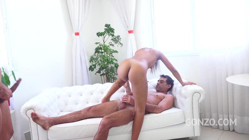 Sexy brazilian slut Marcella Shultz assfucked 3on1( DP, Gangbang, Anal, Toys, Gape, Latin, A2 M,