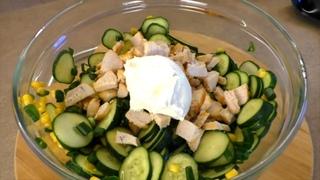 ЖИР Скажет ПОКА и Растают БОКА! Легкий Весенний Салат Для Похудения Из Самых Простых Продуктов!