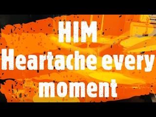 HIM - Heartache every moment - drumcover by Evgeniy sifr Loboda