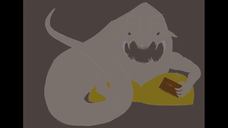 Рисуем босса дарксоус алчный демон с лоускилом стрим 3