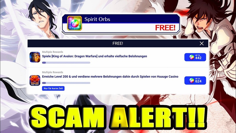 🇺🇸 🇫🇷 BBS SCAM ALERT DON'T FALL FOR TAPJOY'S FAKE FREE ORBS ⚠️ Bleach Brave Souls