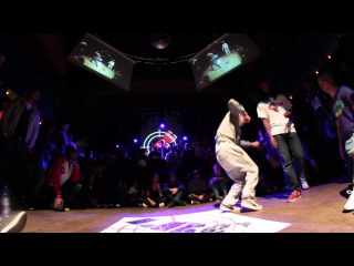 LRC ROYAL:1/2 final hip hop YOURI VS ICEE