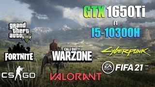 """GTX 1650 Ti Test in 8 games ft i5-10300H """"LAPTOP"""" - GTX 1650 Ti GAMING"""