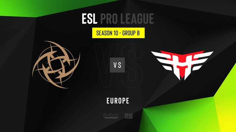 NiP vs Heroic - ESL Pro League Season 10 EU - map2 - de_nuke [TheCraggy Gromjkeee]