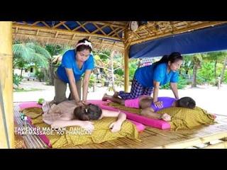 Традиционный глубокий Тайский массаж всего тела / Traditional Thai deep massage full body, pain